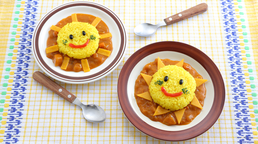 "Let's make ""Sunny Curry"" at the Cooking Studio!"