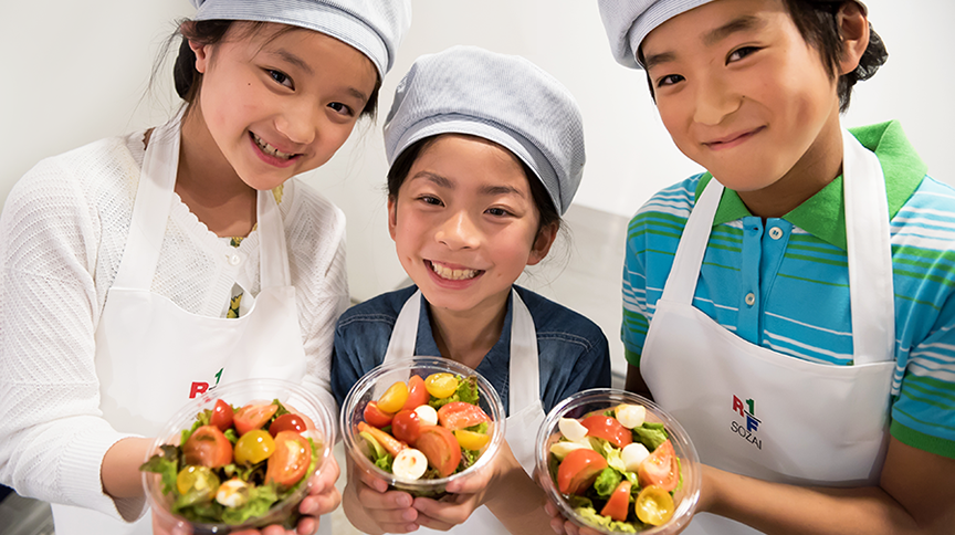 Earn extra kidZos at the Salad Shop!