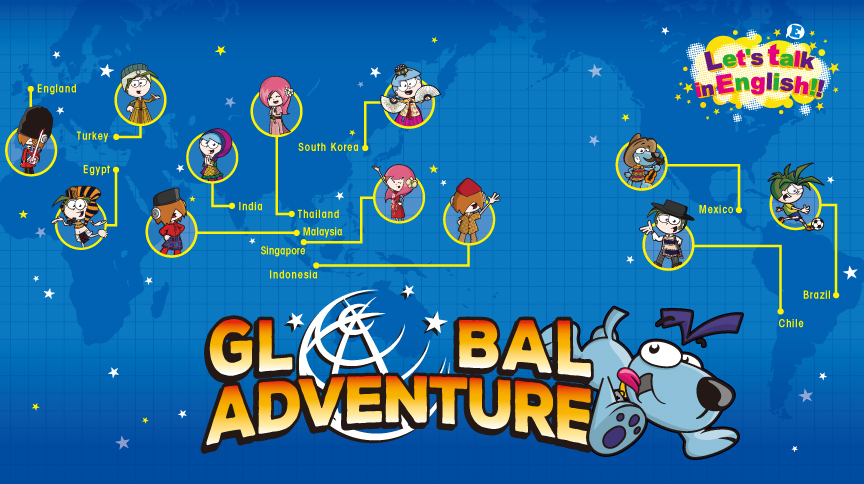 Let's talk in English!!「Global Adventure」